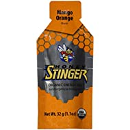 Honey Stinger Organic Energy Gel, Mango Orange, 1.1 Ounce (Pack of 24)