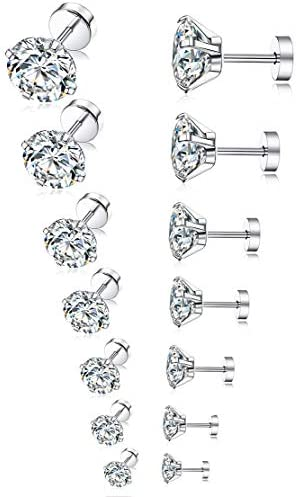 Tornito Stainless Earrings Zirconia Earring product image