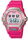 Casio Women's Watch Pink Resin Strap Lw202h-4av