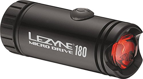 Lezyne Micro Drive Tail Light Black, One Size