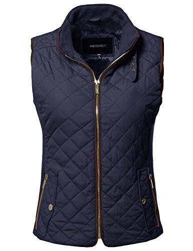 Quilted Ribbed Vest - 7