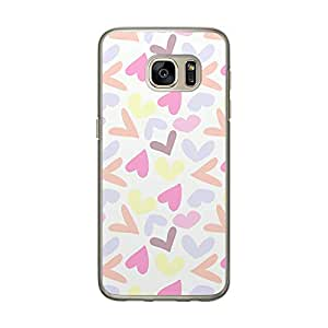 Loud Universe Samsung Galaxy S7 Love Valentine Files Valentine 104 Printed Transparent Edge Case - Multi Color