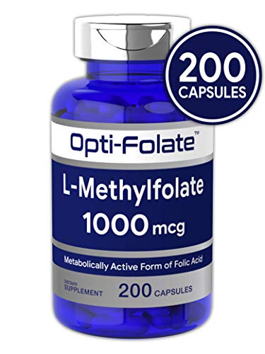Opti-Folate L-Methylfolate 1000 mcg (200 Capsules)