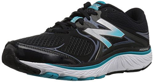 New Balance Mujeres 940v3 Running Shoe Black / Blue