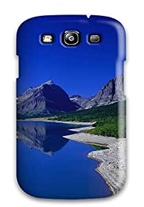 Cute Appearance Cover/tpu ZseopDP6490JouLn Landscape Case For Galaxy S3 Sending Screen Protector in Free