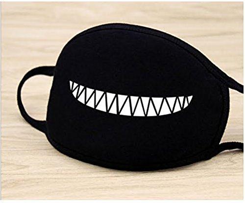 5Five Moda A Bathing Ape Bape Shark Black Face Mask Camouflage Mouth-muffle Bape Covers