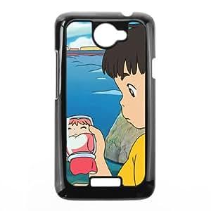 HTC One X Cell Phone Case Black Ponyo I8271734