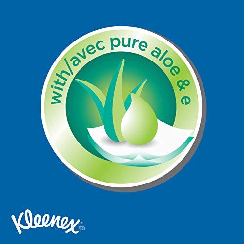 Kleenex Lotion Facial Tissue, 120 Count, (3 Pack) للبيع