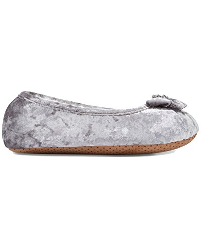 Embellished Velvet Small Ballerina Concepts 5 6 International INC Silver Slippers tqExBHgcZw