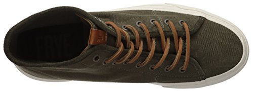 Frye Hombre Ludlow High Sneaker Olive