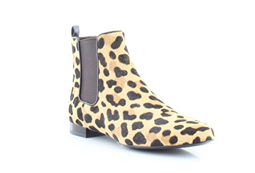 Tory Burch orsay Bootie Women's Boots Leopard Print/Coconut Size 6 - Tory Burch Print Leopard