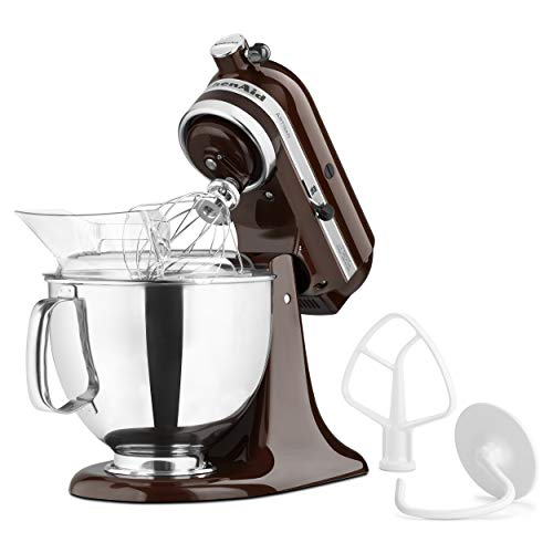 KitchenAid KSM150PSES Artisan Series 5-Qt. Stand Mixer with Pouring Shield - Espresso - http://coolthings.us