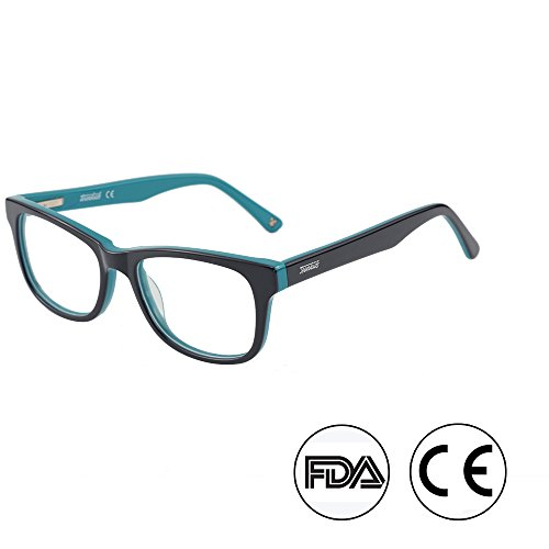 2a193ac550 Blue Light Shield Computer Reading Gaming Glasses for kids- 0.0  Magnification - Anti Blue