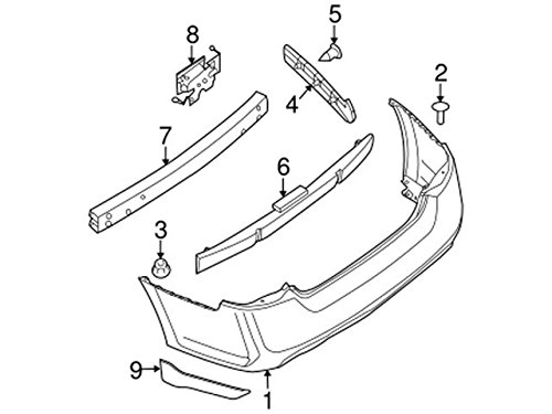 Nissan Bracket Rear