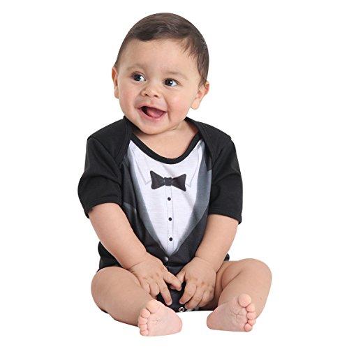 Body Verão Executivo Bebê Sulamericana Fantasias Preto Gg-12 Meses
