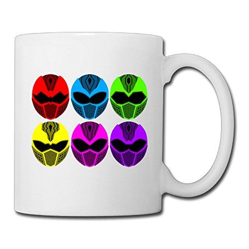 Elnory Power Rangers Unisex Coffee (Dino Thunder Costume)