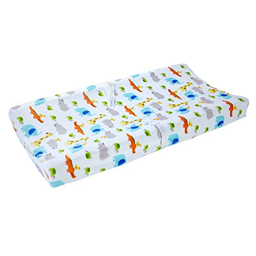 Carter's Changing Pad Cover, Safari Print, One Size by Carter's