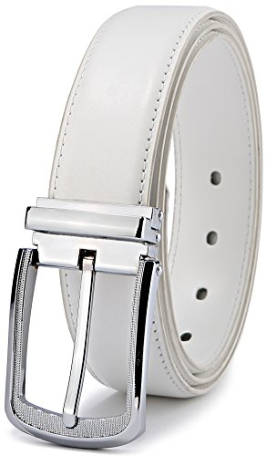 28 Golf (Men's Belt,Bulliant Genuine Leather Belt for Men Dress&Casual with Pin Buckle 1 3/8, Trim to Exact Fit)