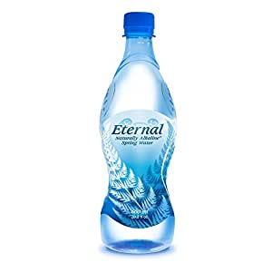 Eternal Water Naturally Alkaline Spring Water, 600 ml, 24 Count
