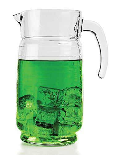 64 ounce glass pitcher - 8