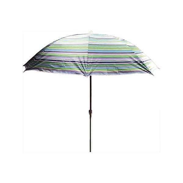Ombrellone da spiaggia, 180 cm, modello Spiking Edm 1 spesavip
