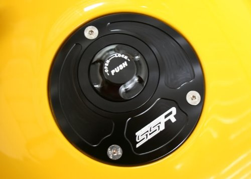 Aprilia Quick Release Keyless Billet Gas Fuel Petrol Cap Lid RSV1000 RSV4 Tuono by SSR