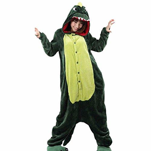 508e4acb38 Unisex Hooded Sleepwear Nightwear Adult Cartoon Animal Kigurumi Warm Soft Pajamas  Cosplay Sleepwear Dress Up Costume  Amazon.co.uk  Clothing