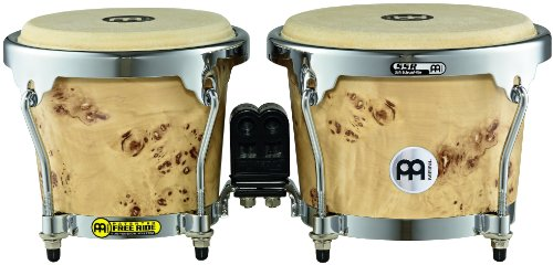 Wooden Bongos (Meinl Percussion MB400DB-M RAPC (Radial 5 Ply Construction) Wooden Bongos 6 3/4-Inch and 8-Inch, Desert Burl Matte)