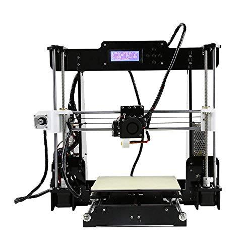 3 idea Anet A8 3D Desktop Acrylic LCD Screen Printer -Prusa i3 DIY High Accuracy