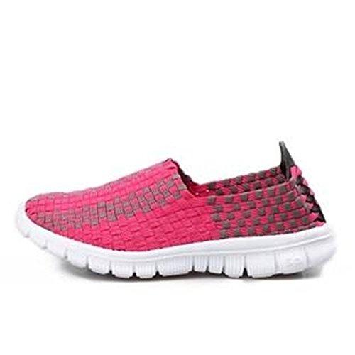 EU da passeggio per 41 Blu abbigliamento Shufang sportivo Dimensione 2018 nuevo Sneaker Rosa Color Vamp shoes qwf4TaB