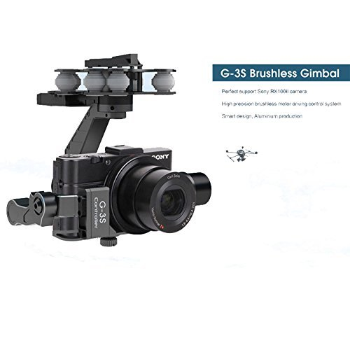 Walkera rc G-3S Sony Gimbal Professional metal Brushless Gimbal For Sony RX100II Camera