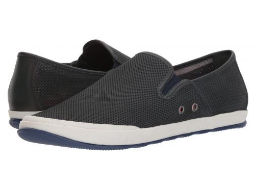 Johnston & Murphy(ジョーンストンアンドマーフィー) メンズ 男性用 シューズ 靴 スニーカー 運動靴 Mullen Slip-On - Navy Perfed Nubuck [並行輸入品] B07BMC4G98