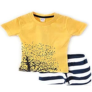 SHLOK'S Boys 100% Cotton T-Shirt...