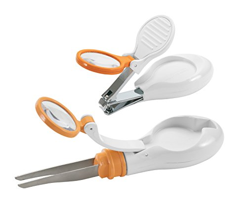 Safety 1st Clear View Tweezer and Nail Clipper - Lens View Clear