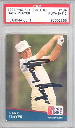 Golf Card Set Pro (Gary Player Autographed 1991 Pro Set PGA Tour Card #194#26602866 - PSA/DNA Certified - Autographed Golf Cards)