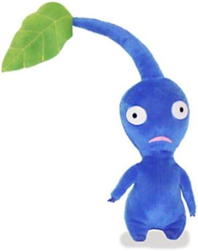 Amazon Com Sanei Blue Leaf Pikmin Pikumin 6 Plush Toys Games
