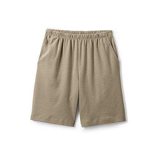Lands' End Women's Sport Knit Shorts, L, Khaki ()