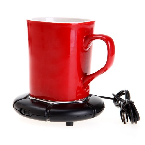 Portable USB Cup Mug Warmer Coffee Tea Drink Heater Tray Pad Electronics Gadgets Novelty