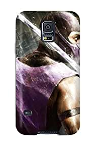 AMGake Case Cover Protector Specially Made For Galaxy S5 Mortal Kombat's Scorpion