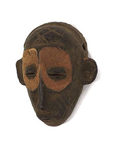 Chokwe Clay Mask Mwana Pwo Congo African Art
