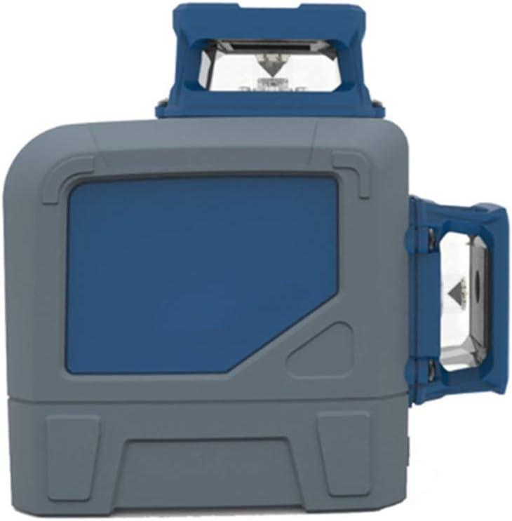 Distancia de medición a prueba de agua, a prueba de golpes y a prueba de polvo del nivel de burbuja láser 3D de 8 líneas 40m puede anping automático Mini nivel de luz verde de alto brillo