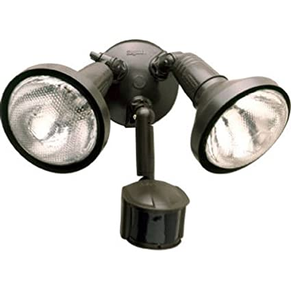 Cooper Lighting MS185R 180-Degree 300W PAR Motion Security Floodlight with Reflectors (Bronze)  sc 1 st  Amazon.ca : cooper lighting canada - www.canuckmediamonitor.org