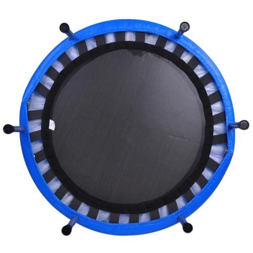 36 round fitness mini trampoline folding rebounder indoor exercise