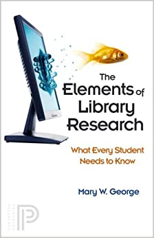 \\WORK\\ The Elements Of Library Research: What Every Student Needs To Know. images chart Natural etwas Register often
