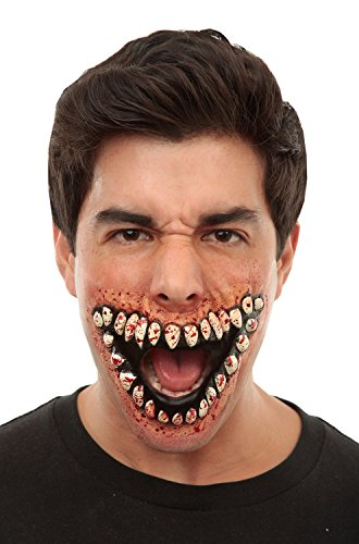Prosthetic Mouth Of Teeth Grinning ()