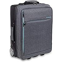 Maletín de asistencia domiciliaria biotono   Urban HOVI'S   Elite Bags   Colores: gris y negro   Medidas: 47 x 34 x 18…