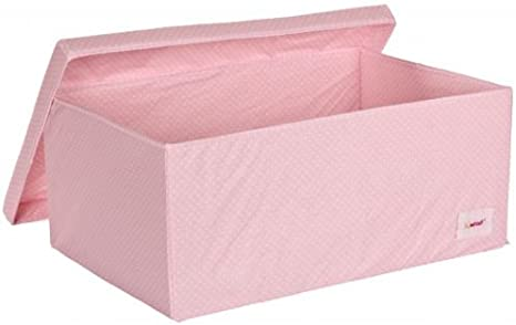 Minene - Caja con tapa, color rosa: Amazon.es: Bebé
