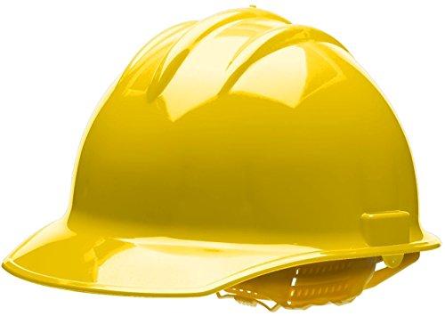 - Bullard 30YLP Classic Cap Style Hard Hat, 6 Point Pin Lock Suspension, Yellow, One Size