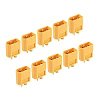 SODIAL 5 x Pairs RC XT60 Male & Female PAIR Battery Connector + Heat Shrink