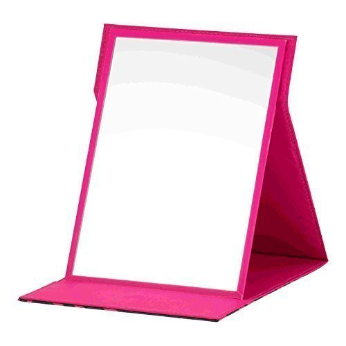 Danielle Creations Pink Sparkly Safari Design Folding Mirror
